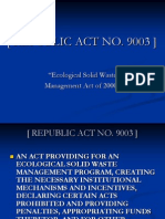 Republic Act No 9003