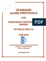 2010 Nurse Protocol Manual