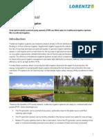 Lorentz Pp Floodirrigation En