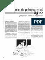 Estructuras de Pobreza en El Agro