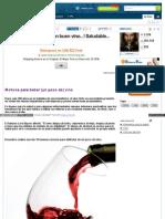 Vino - 18 Razones Para Tomar Un Buen Vino