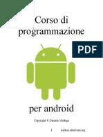Corso Di Programmazione Per ANDROID