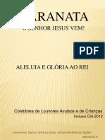 COLETÂNEA AVULSOS E CIA COMPLETA!
