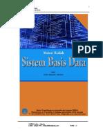 Materi Kuliah Sistem Basis Data