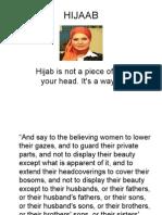 HIJAAB (Display of Beauty)