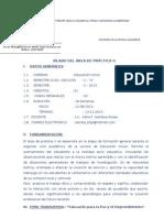 Sílabo PRACTICA II KF
