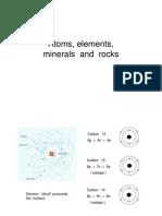3- Atoms, Elements,Minerals