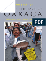 We Are the Face of Oaxaca by Lynn Stephen