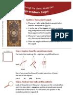 Design an Islamic Carpet