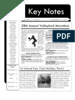 Keynotes December