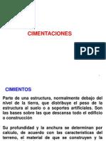 6º CLASE CIMENTACIONES DIRECTAS