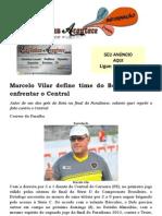 Marcelo Vilar Define Time Do Botafogo Para Enfrentar o Central