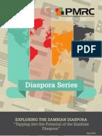 "PMRC Diaspora Series - Exploring the Zambia Diaspora ""Tapping into Potential of the Zambia Diaspora"""