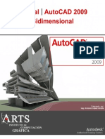 Manual Autocad 2009 (Bidimensional) Totalmente en Español