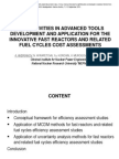 INPE ACTIVITIES IN ADVANCED TOOLSDEVELOPMENT AND APPLICATION FOR THEINNOVATIVE FAST REACTORS AND RELATEDFUEL CYCLES COST ASSESSMENTS