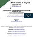ContentInternationalization of the Curriculum