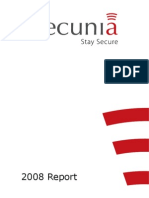 Secunia 2008 Report