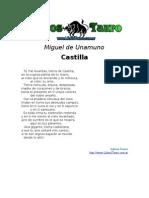 Unamuno, Miguel de - Castilla