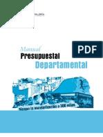 1. Manual Presupuestal-nivel Departamental