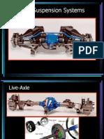 CSD 1 Rear Suspension Systems