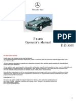 1999 E320 Owners Manual Pt1