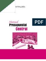 1. Manual Presupuestal-nivel Central