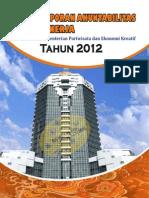 Lakip Kementerian Pariwisata Dan Ekonomi Kreatif 2012