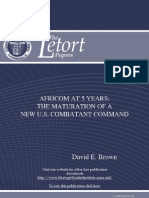 AFRICOM at 5 Years