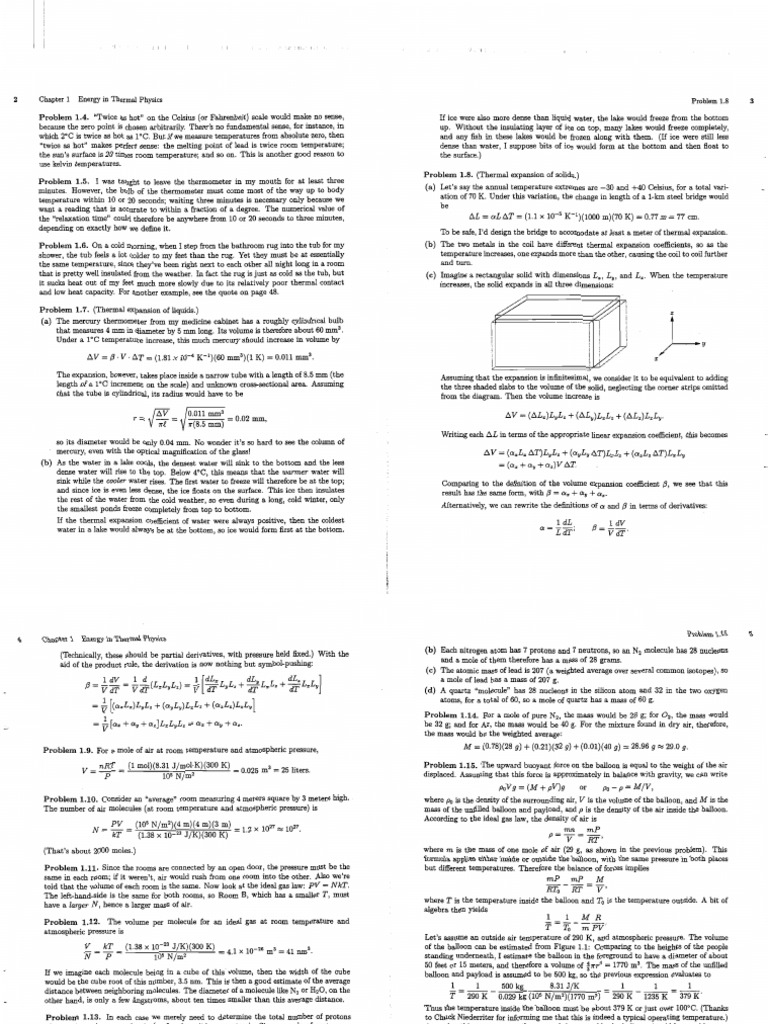 solutions schroeder thermal physics rh fr scribd com schroeder thermal physics solutions manual blundell thermal physics solution manual pdf