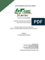 3.1. Fundamentos de Las Tecnicas de Gestion de La Innovacion