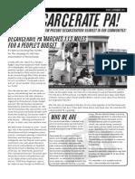 Decarcerate PA Newsletter September 2013