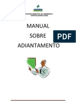 Manual Adiantamento