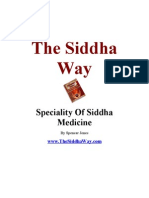 Speciality of Siddha Medicine