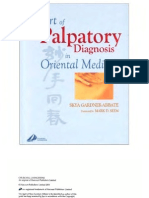 The Art of Palpatory Diagnosis in Oriental Medicine