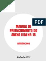 Manual Preenchimento Do Anexo 2 NR 18