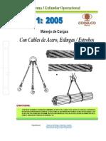 Neo01-2005 Cables de Acero, Eslingas y Estrobos