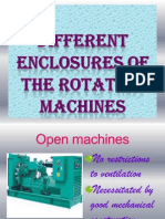Different Enclosures of the Rotating Machines