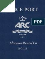 Arc Priceport 2012