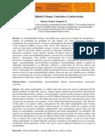 Artigo ELECS2009 Sustentabilidade Urbana Conceitos e Controversas Sampaio