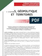 Firmes, Géopolitique et Territoires