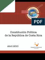 Constitucion Politica de La Republica de Costa Rica