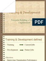 Training & Development TY BMS