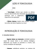 Introducao a Toxicologia