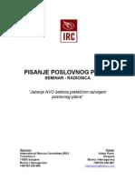 IRC Biznis Plan