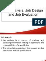 Job Analysis,Design n Evaluation TYBMS