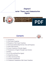 Comm-02-Fourier Theory and Communication Signals
