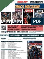 Devil Comics Magazine September 2013