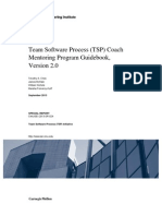 Team Software Process (TSP) Coach Mentoring Program Guidebook, Version 2.0