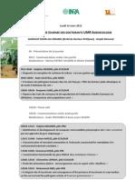 Journee Doctorant Agroecologie 2012 Programme