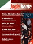 Soziologie heute Dezember 2008